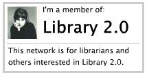 library2.0 website